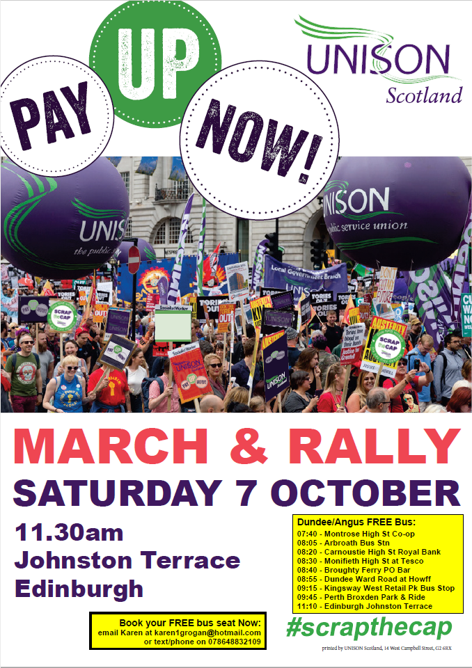 Pay Up Now! Rally October 17